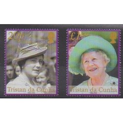 Tristan da Cunha - 2002 - Nb 712/713 - Royalty