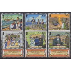 Tristan da Cunha - 2003 - No 739/744 - Histoire