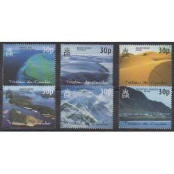 Tristan da Cunha - 2003 - No 724/729 - Sites