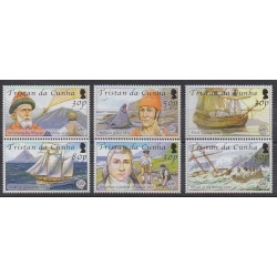 Tristan da Cunha - 2006 - Nb 805/810 - Various Historics Themes