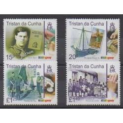 Tristan da Cunha - 2007 - Nb 864/867 - Scouts