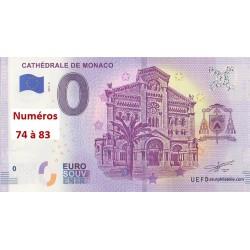 Euro banknote memory - MC - Cathédrale de Monaco - 2019-2