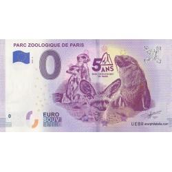 Euro banknote memory - 75 - Parc zoologique de Paris - 2019-4
