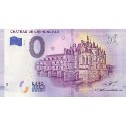 Euro banknote memory - 37 - Château de Chenonceau - 2019-2