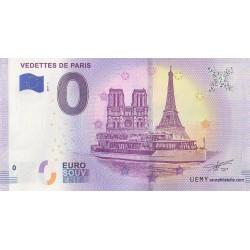 Euro banknote memory - 75 - Vedettes de Paris - 2019-1