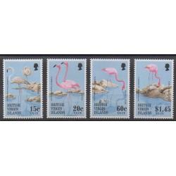 Vierges (Iles) - 1995 - No 791/794 - Oiseaux