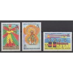 Vierges (Iles) - 1998 - No 869/871 - Folklore