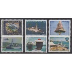 Nouvelle-Calédonie - 1994 - No 668/673 - Navigation