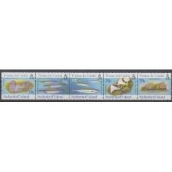Tristan da Cunha - 2006 - No 843/847 - Animaux marins