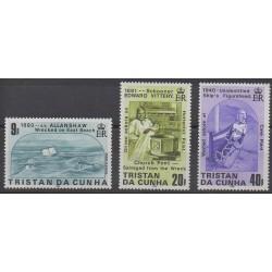 Tristan da Cunha - 1986 - Nb 389/391 - Boats