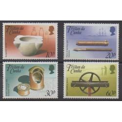 Tristan da Cunha - 1989 - No 457/460 - Navigation