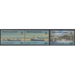 Tristan da Cunha - 1993 - Nb 518/520 - Boats