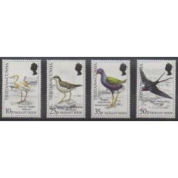 Tristan da Cunha - 1989 - Nb 461/464 - Birds