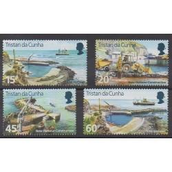 Tristan da Cunha - 1996 - Nb 568/571 - Boats