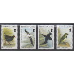 Tristan da Cunha - 1996 - Nb 572/575 - Birds