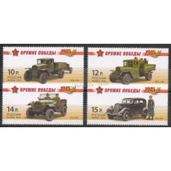 Russie - 2012- No 7286/7289 - Voitures