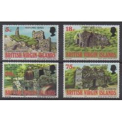 Virgin (Islands) - 1976 - Nb 303/306 - Sights