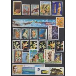 Nouvelle-Calédonie - Année complète - 1996 - No 703/724 - PA331/PA339