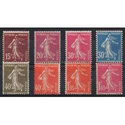 France - Poste - 1924 - No 189/196