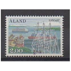 Aland - 1984 - Nb 7 - Boats