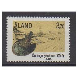 Aland - 1986 - No 19 - Peinture