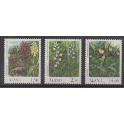 Aland - 1989 - Nb 33/35 - Orchids