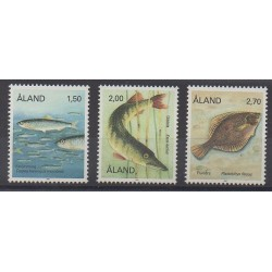 Aland - 1990 - No 38/40 - Animaux marins