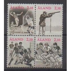 Aland - 1991 - No 47/50 - Sports divers