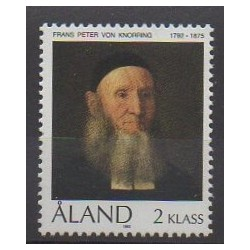Aland - 1992 - Nb 55 - Celebrities - Paintings
