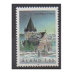 Aland - 1989 - No 37 - Églises