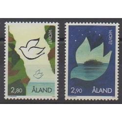 Aland - 1995 - Nb 100/101 - Europa