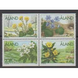 Aland - 1997 - No 123/126 - Fleurs