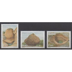 Aland - 1995 - Nb 92/94 - Minerals - Gems