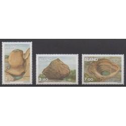 Aland - 1995 - No 92/94 - Minéraux - Pierres précieuses