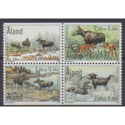 Aland - 2000 - No 171/174 - Mammifères