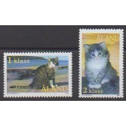 Aland - 2003 - Nb 217/218 - Cats