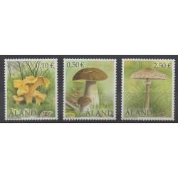 Aland - 2003 - Nb 214/216 - Mushrooms