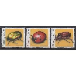 Aland - 2006 - No 259/261 - Insectes