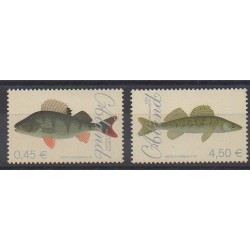 Aland - 2008 - Nb 289/290 - Sea animals