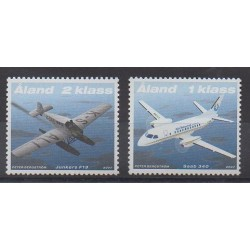 Aland - 2007 - No 277/278 - Aviation - Service postal