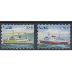 Aland - 2011 - Nb 337/338 - Boats