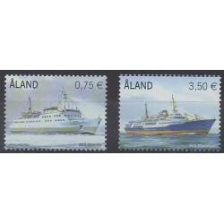 Aland - 2010 - Nb 325/326 - Boats