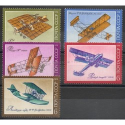 Russia - 1974- Nb 4109/4113 - Planes