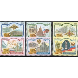 Russie - 2002- No 6658/6663 - Monuments