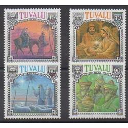 Tuvalu - 1990 - Nb 551/554 - Christmas