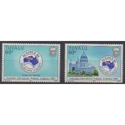 Tuvalu - 1984 - No 255/256 - Philatélie