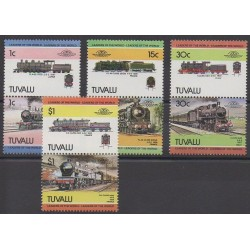 Tuvalu - 1984 - Nb 259/266 - Trains