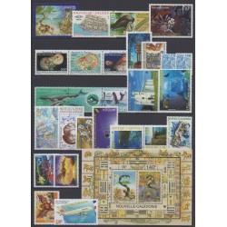 Nouvelle-Calédonie - Année complète - 2001 - No 838/862 - PA349 - BF25
