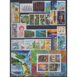 Nouvelle-Calédonie - Année complète - 2000 - No 812/837 - PA348 - BF23/BF24