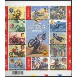 Belgique - 2004- No 3321/3332 - Motos
